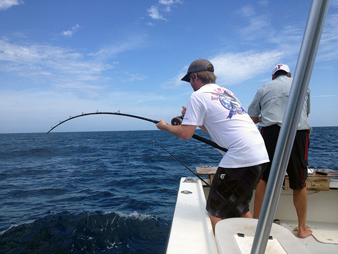 Tampa bay clearwater deep sea offshore fishing charters for Deep sea fishing clearwater fl
