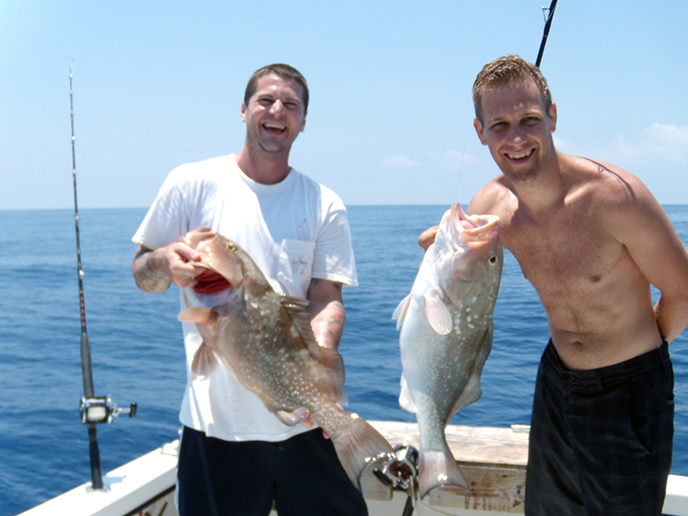 Tampa bay clearwater deep sea offshore fishing charters for Florida fishing charters