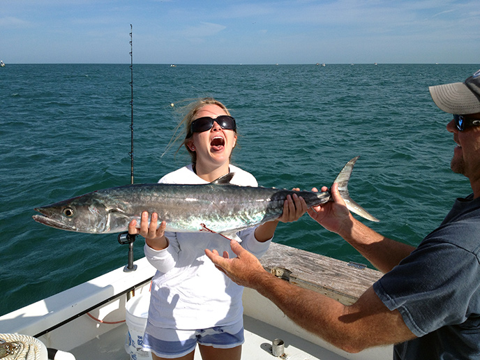 Tampa bay clearwater deep sea offshore fishing charters for Tampa florida fishing charters